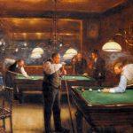 Jean-georges-Beraud-A-Game-Of-Billiards