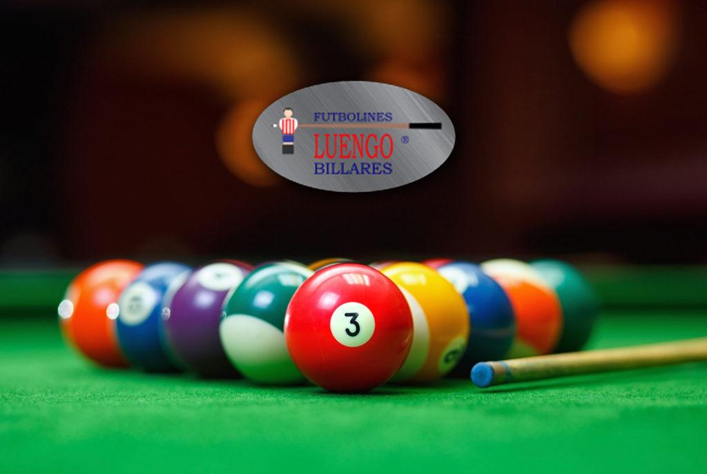 Diferentes tipos y calidad en las bolas de billar